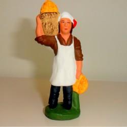 Santon Le Boulanger 7 cm